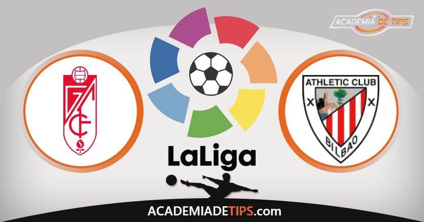Granada x Ath. Bilbao, Prognóstico, Análise e Palpites de Apostas – La Liga