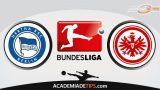 Hertha vs Frankfurt, Prognóstico, Análise e Palpites de Apostas – Bundesliga