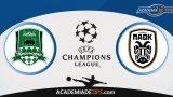 Krasnodar vs PAOK, Prognóstico, Análise e Palpites de Apostas – Champions League PlayOff