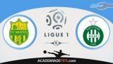Nantes x St. Etienne, Prognóstico, Análise e Palpites de Apostas – Ligue 1