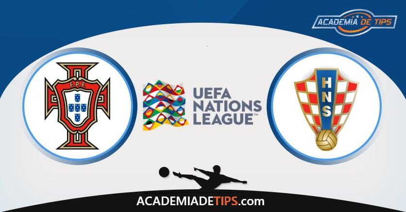 Portugal x Croácia, Prognóstico, Análise e Palpites de Apostas – UEFA Nations League