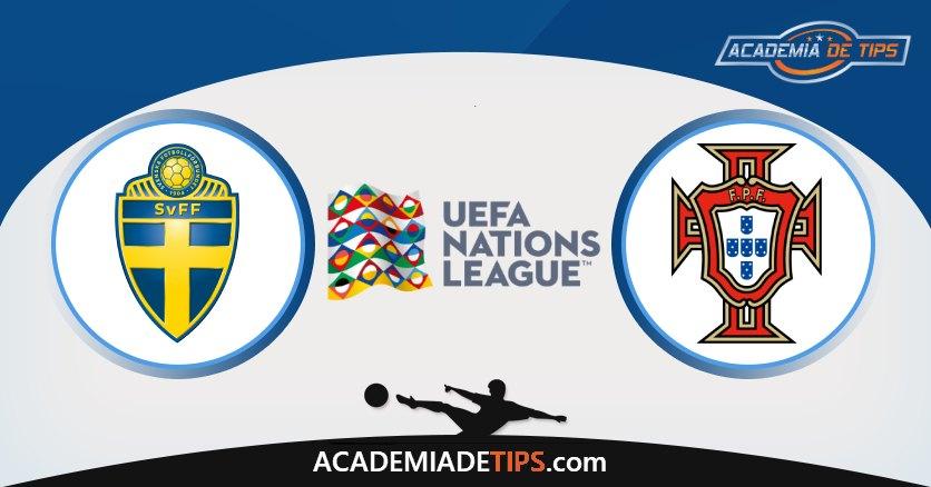 Suécia x Portugal, Prognóstico, Análise e Palpites de Apostas – UEFA Nations League