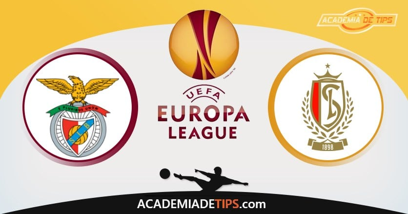 Benfica x Standard Liege, Prognóstico, Análise e Palpites de Apostas - Liga Europa