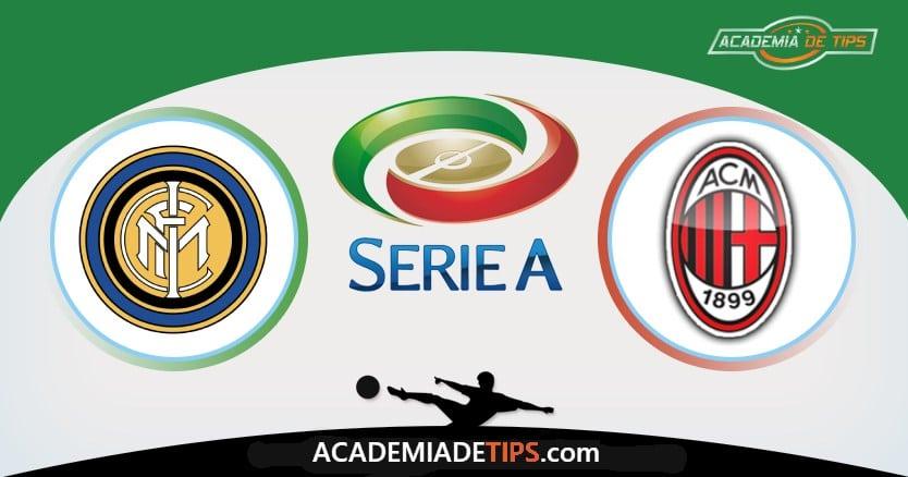 Inter vs AC Milan, Prognóstico, Análise e Palpites de Apostas – Serie A