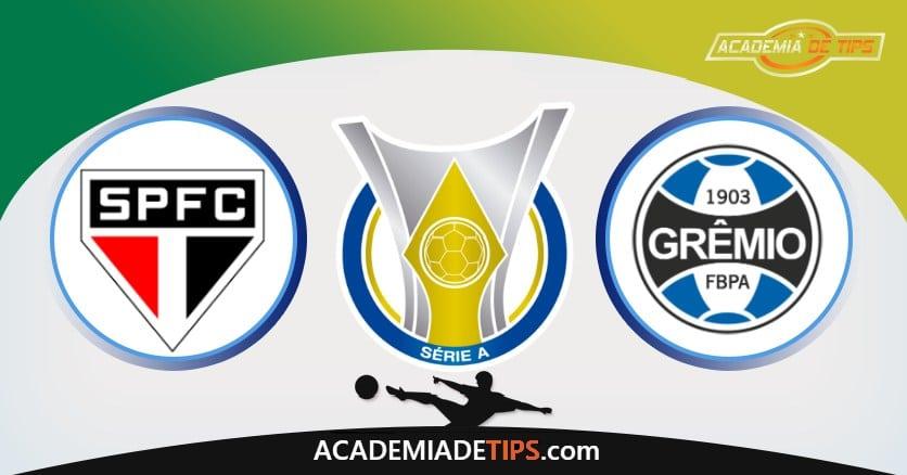 São Paulo x Grêmio, Prognóstico, Análise e Palpites de Apostas - Brasileirão 2020