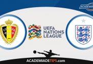Bélgica x Inglaterra, Prognóstico, Análise e Palpites de Apostas – Liga das Nações