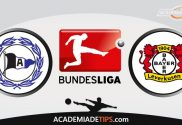 Bielefeld x Leverkusen, Prognóstico, Análise e Palpites de Apostas – Bundesliga