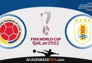 Colômbia x Uruguai, Prognóstico, Análise e Palpites de Apostas - Qual. Campeonato do Mundo