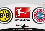Dortmund x Bayern, Prognóstico, Análise e Palpites de Apostas – Bundesliga