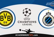 Dortmund x Club Brugge, Prognostico, Analise e Palpites de Apostas – Champions League