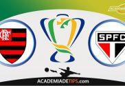 Flamengo x São Paulo, Prognóstico, Análise e Palpites de Apostas - Copa do Brasil