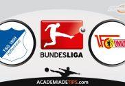 Hoffenheim x Union Berlin, Prognóstico, Análise e Palpites de Apostas – Bundesliga