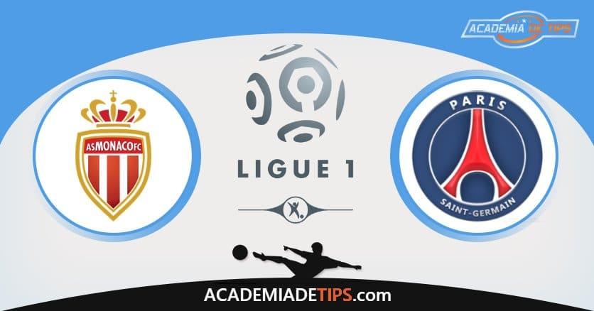 Monaco x PSG, Prognóstico, Análise e Palpites de Apostas – Ligue 1