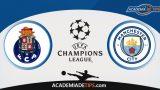 Porto x Manchester City, Prognóstico, Análise e Palpites de Apostas – Liga dos Campeões