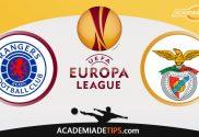 Rangers x Benfica, Prognóstico, Análise e Palpites de Apostas - Liga Europa