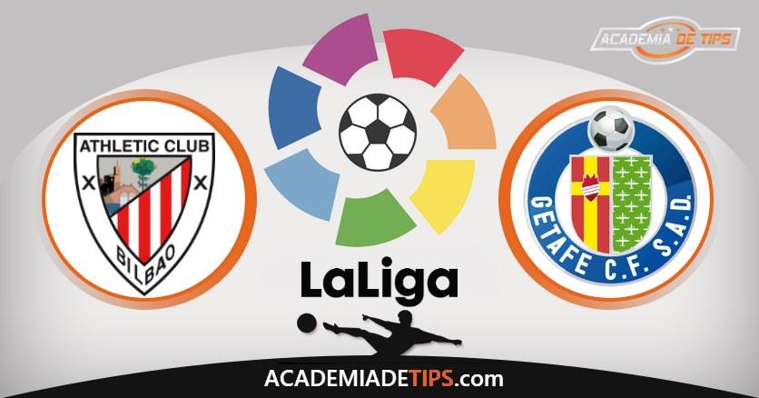 Athletic Bilbao vs Getafe, Prognóstico, Análise e Apostas da Jornada 22 da La Liga