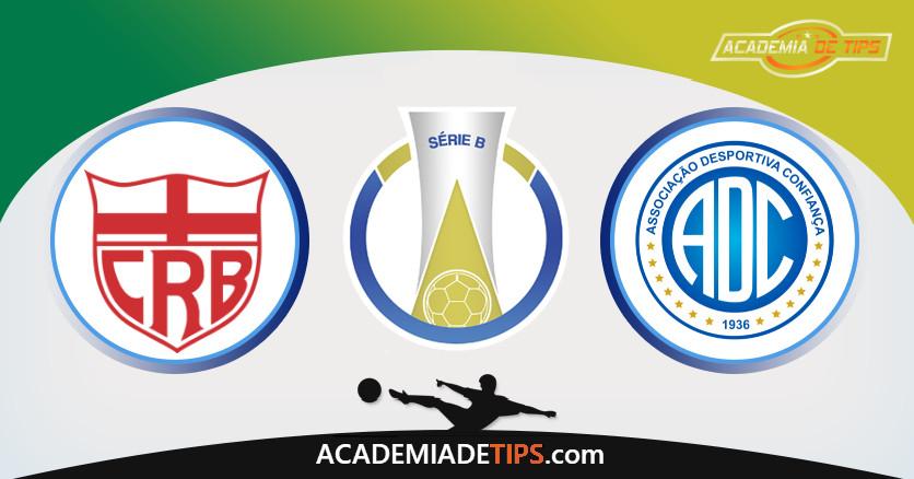CRB vs Confiança, Prognóstico, Análise da Rodada 33 – Serie B