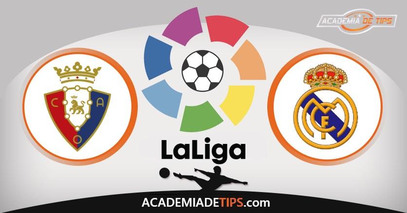 Osasuna vs Real Madrid, Prognóstico, Análise e Apostas da Jornada 18 da La Liga