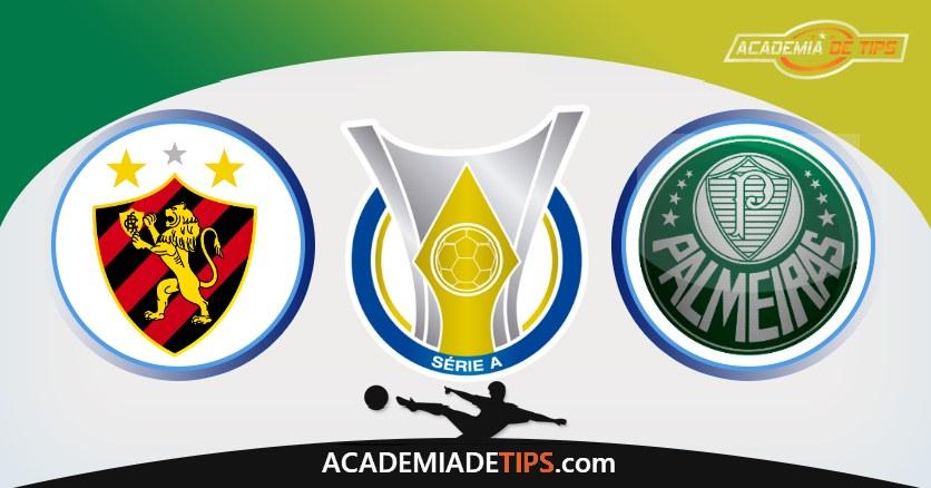 Sport Recife vs Palmeiras, Prognóstico, Análise da Jornada do Brasileirão – Tips Para 3 Jogos