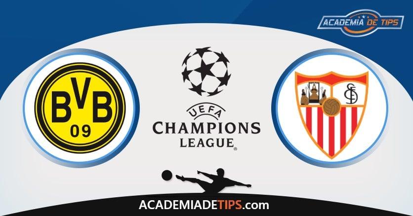 Dortmund vs Sevilla, Prognóstico, Análise e Apostas Para 2 Jogos