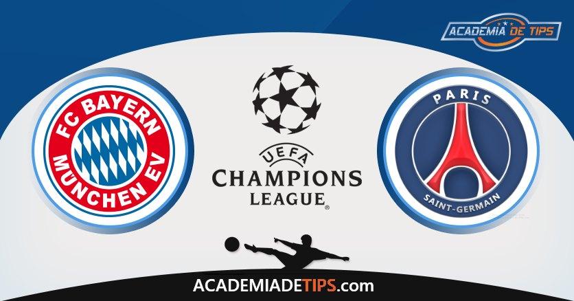 Bayern vs PSG, Prognóstico, Análise e Apostas 2 Jogos