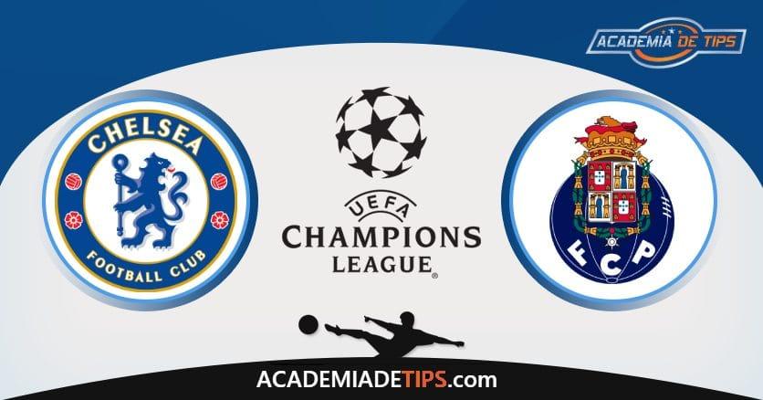 Chelsea vs Porto, Prognóstico, Análise e Apostas 2 Jogos