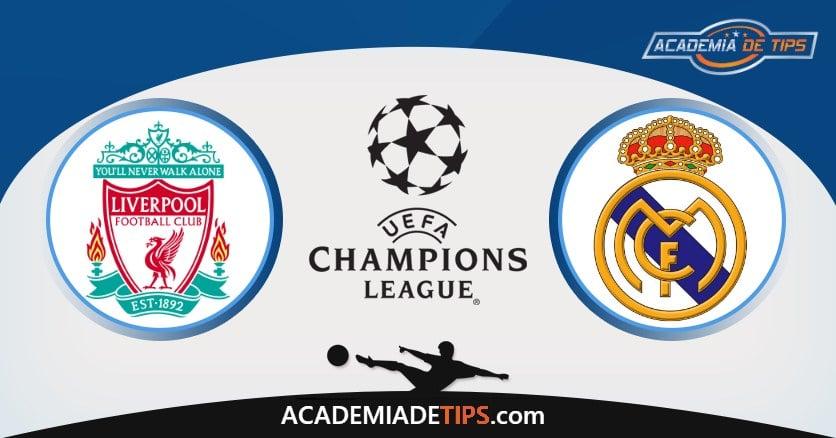 Liverpool vs Real Madrid, Prognóstico, Análise e Apostas 2 Jogos