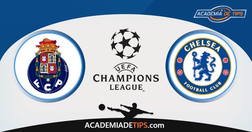 Porto vs Chelsea, Prognóstico, Análise e Apostas 2 Jogos