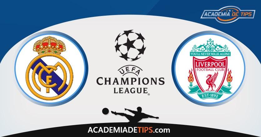 Real Madrid vs Liverpool, Prognóstico, Análise e Apostas 2 Jogos