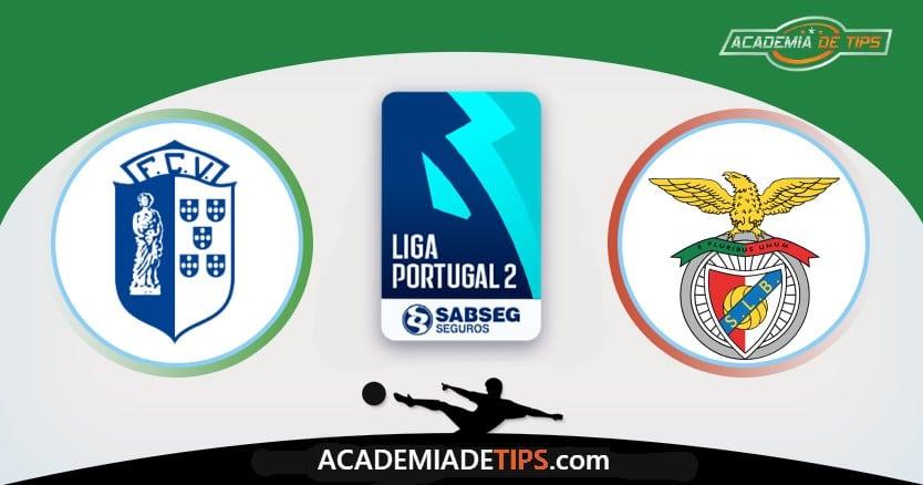 Vizela vs Benfica B, Prognóstico, Análise e Apostas 3 Jogos
