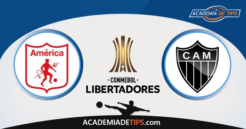 America De Cali vs Atletico-MG, Prognóstico, Análise e Apostas Libertadores – 6 Palpites