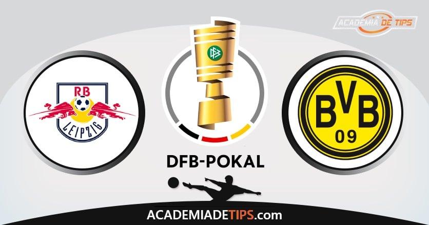 Leipzig vs Dortmund, Prognóstico, Análise e Apostas DFB Pokal – 3 Palpites