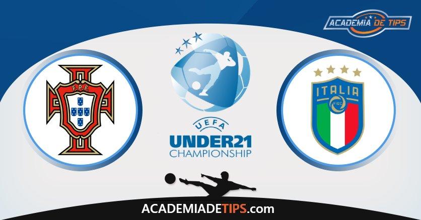 Portugal U21 vs Itália U21, Prognóstico, Análise e Apostas Euro U21 – 2 Palpites