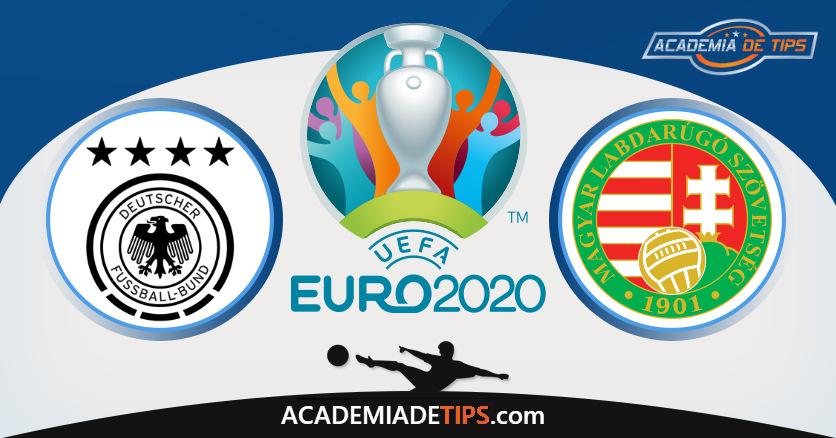 Alemanha vs Hungria, Prognóstico, Análise e Apostas Euro 2020