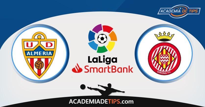 Almeria vs Girona, Prognóstico, Análise e Apostas La Liga 2 – 3 Palpites