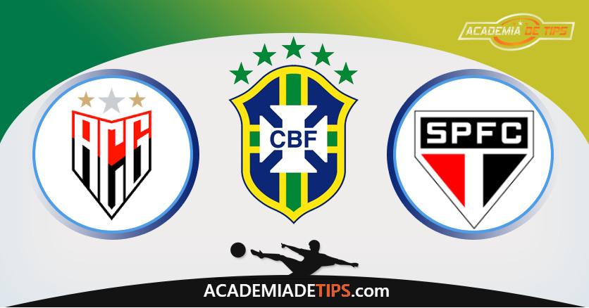 Atlético-GO vs São Paulo, Prognóstico, Análise e Apostas Brasilerião – 6 Palpites