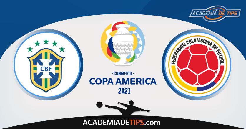 Brasil vs Colômbia, Prognóstico, Análise e Apostas Copa América 2021