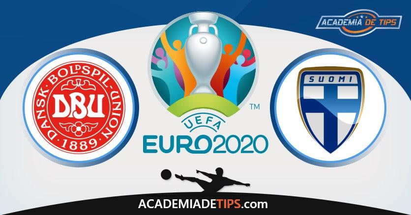 Dinamarca vs Finlândia, Prognóstico, Análise e Apostas Euro 2020