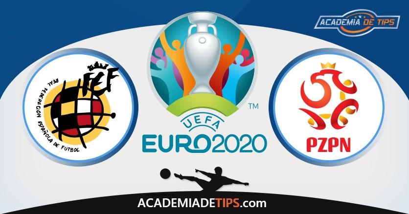Espanha vs Polónia, Prognóstico, Análise e Apostas Euro 2020