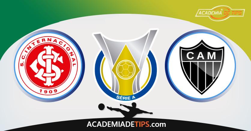 Internacional vs Atlético-MG, Prognóstico, Análise e Apostas Brasileirão – 6 Palpites
