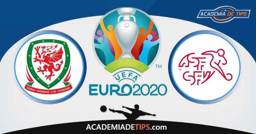 País de Gales vs Suíça, Prognóstico, Análise e Apostas Euro 2020