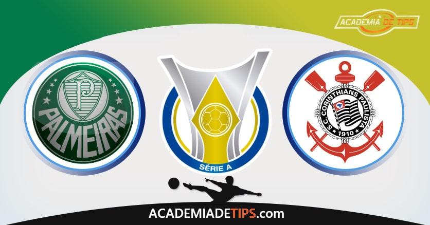 Palmeiras vs Corinthians, Prognóstico, Análise e Apostas Brasileirão– 6 Palpites