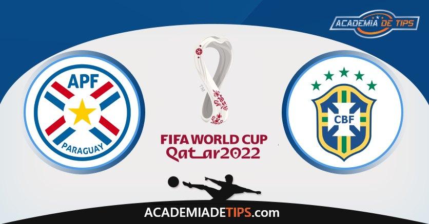Paraguai vs Brasil, Prognostico, Análise e Apostas Qual Mundial 2022
