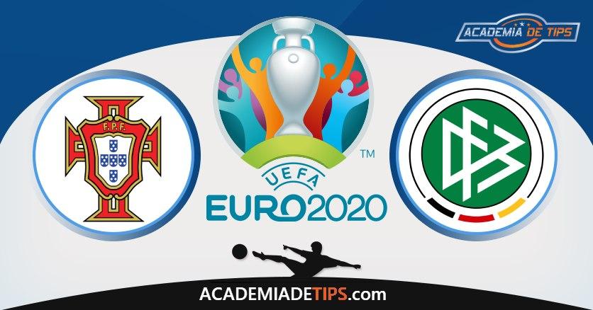 Portugal vs Alemanha, Prognóstico, Análise e Apostas Euro 2020