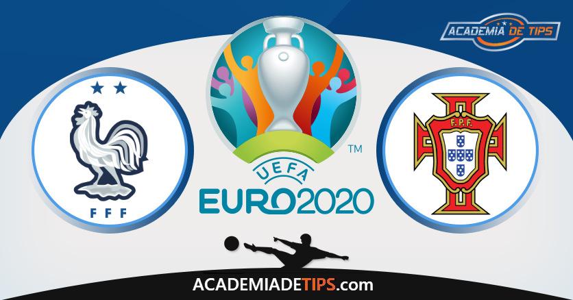 Portugal vs França, Prognóstico, Análise e Apostas Euro 2020