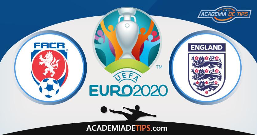 República Checa vs Inglaterra, Prognóstico, Análise e Apostas Euro 2020