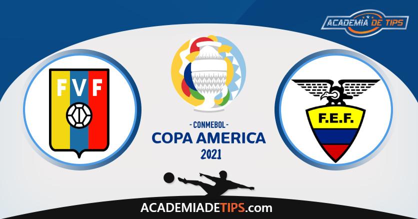Venezuela vs Equador, Prognóstico, Análise e Apostas Copa América 2021