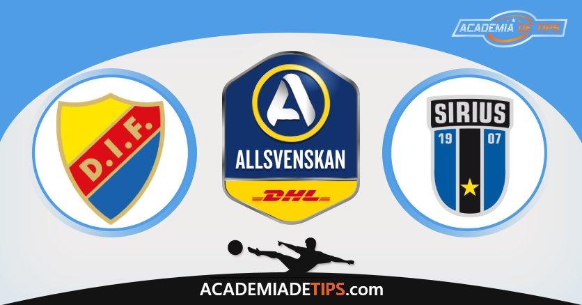 Djugarden vs Sirius, Prognóstico, Análise e Apostas Allsvenskan