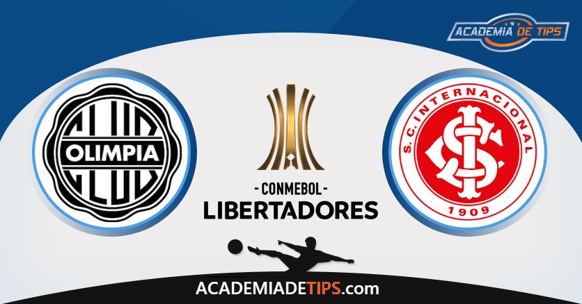 Olímpia Assuncion vs Internacional, Prognóstico, Análise e Apostas Libertadores