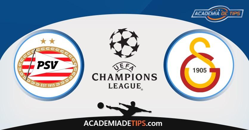 PSV vs Galatasaray, Prognóstico, Análise e Apostas Qual. Champions